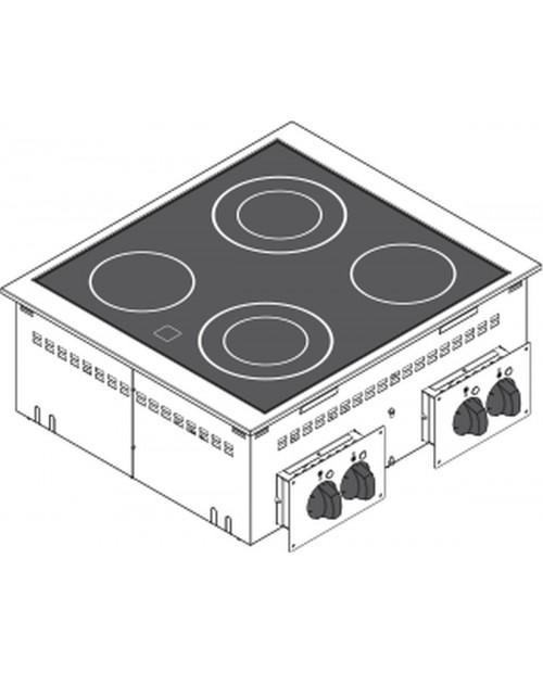 Masina de gatit electrica cu vetroceramica