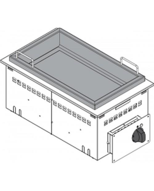 Tigaie basculanta electrica 80 litri, tanc din inox