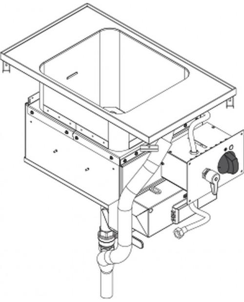 Masina de gatit paste electrica  GN2/3