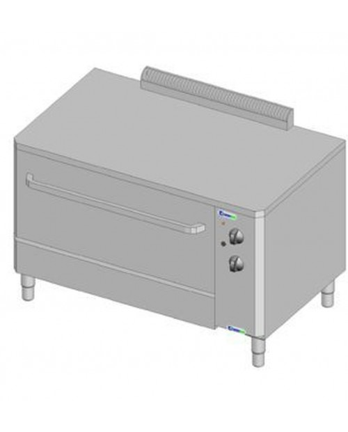 PROVER WITH GLASS DOOR (WATER INJECTION) WITH REINFORCED TOP FOR TECNOBAKE OR TECNODUAL