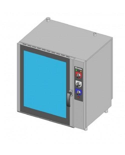 Cuptor combi pe gaz, injectie directa, control electromecanic, tavi 6XGN1/1