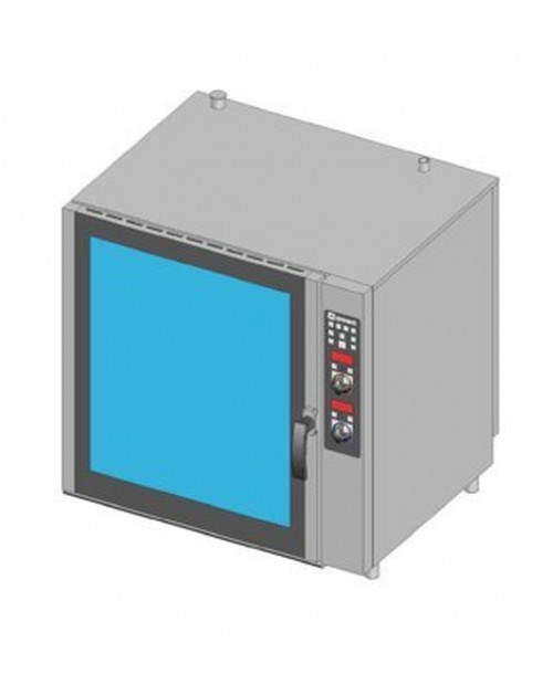 Cuptor patiserie pe gaz, injectie directa, control electronic, tavi 8X(600X400)mm