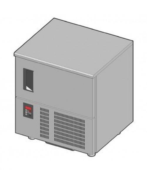 Chiller cu tavi 5 GN1/1 sau 5X(600X400)MM, sonda inclusa