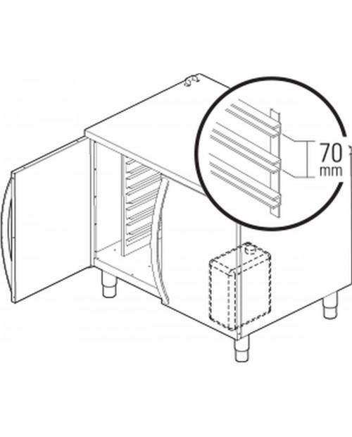 Dulap neutru cu sertare și suport rezervor de detergent