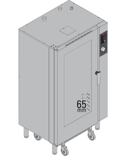 Cuptor cu boiler 20 × GN1/1