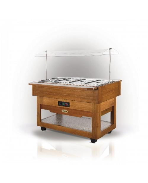 Vitrina frigorifica lemn CARRELLO