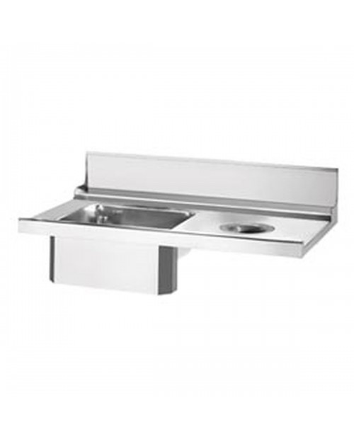 Entry/Exit Table for Dishwashers