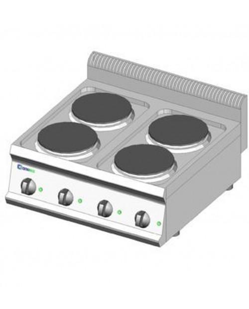Masina de gatit electrica, 4 plite