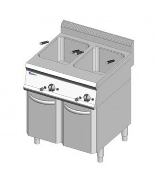 Masina de gatit paste electrica 23lt GN2/1