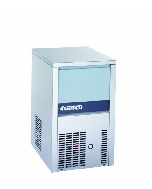 Mașină de gheață, capacitate 20 kg gheață, cub plin 18 gr (≈ 1 176 bucăți) - seria 20.6 CP