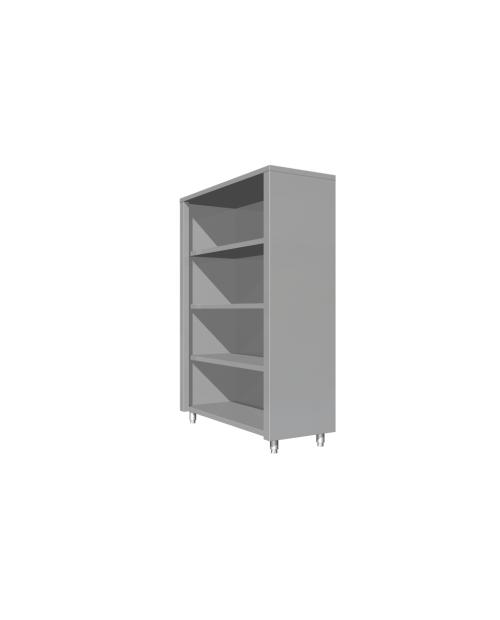 Dulap de perete, deschis-fara usi, o polita intermediara,  (1000 - 2000 mm * 400 mm * 600 mm)