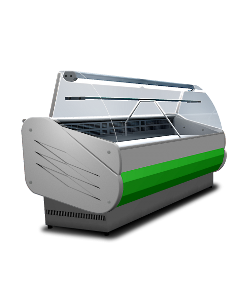 Vitrina frigorifica orizontala cu agregat incorporat SALINA 80