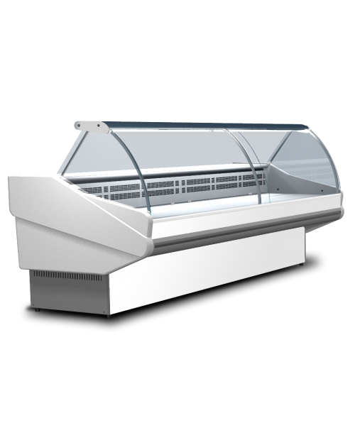 Vitrina frigorifica orizontala cu agregat extern SALINA PLUS