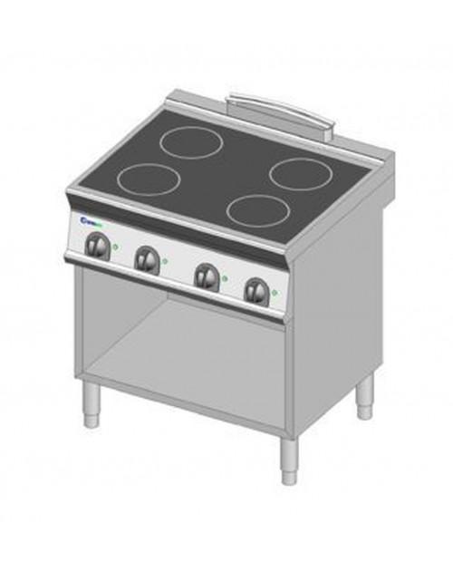 Masina de gatit electrica cu inductie, 4 zone