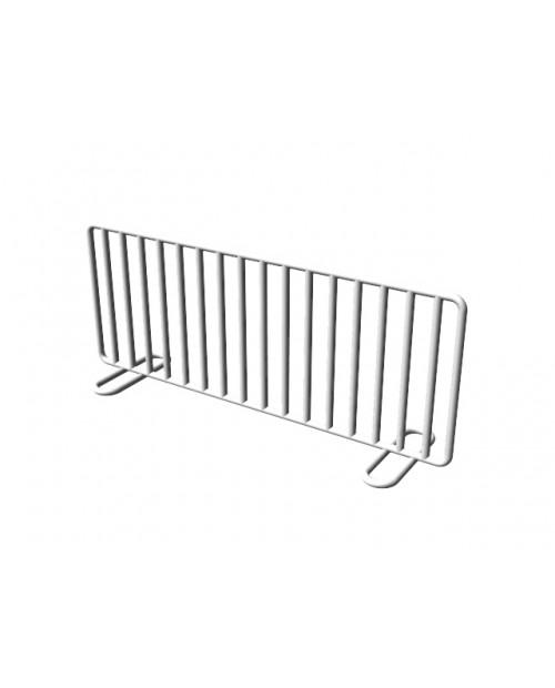 Grilă gri din material plastic pentru oțel inoxidabil VULCANO (H 80 mm)