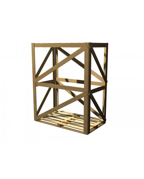 Cușcă din oțel inoxidabil montată (prețuri nete)