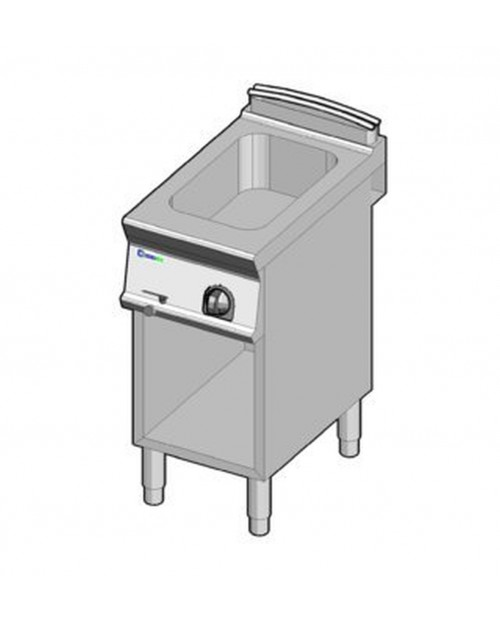 Bain-marie electric GN1/1, suport propriu