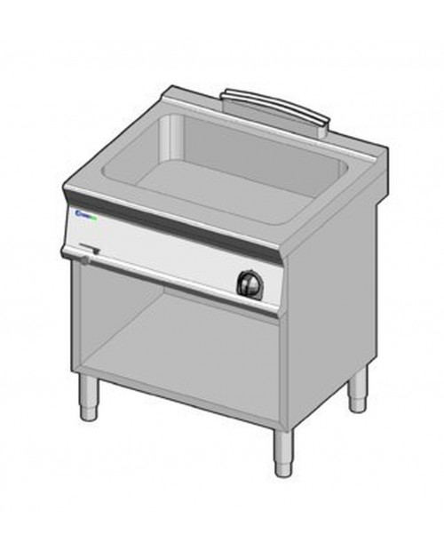 Bain-marie electric GN2/1, suport propriu