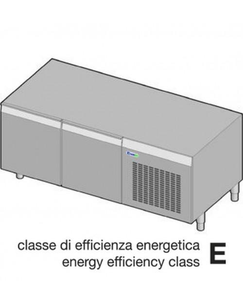 Suport neutru refrigerat GN1/1 - 2 usi