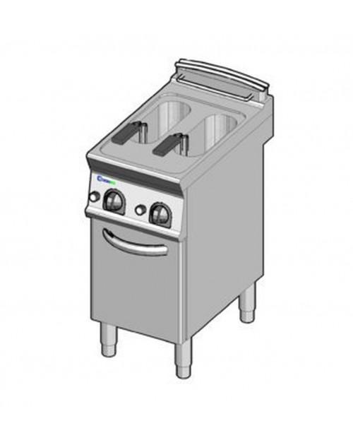 Friteuza electrica, 2 incinte, 8 litri + 8 litri, cu tanc intern interschimbabil