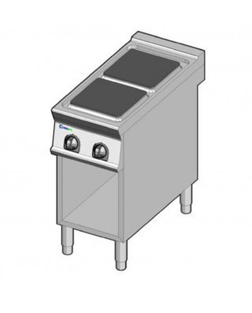 Masina de gatit electrica, 2 plite, suport propriu
