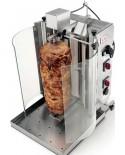 Aparate kebab/shaorma electrice cu motor in partea superioară