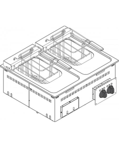 Friteuza electrica 8 LT