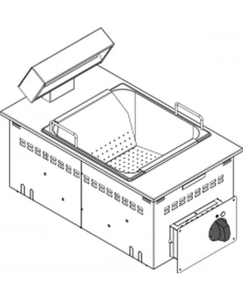 Modul de incalzit cartofi electric GN1/1