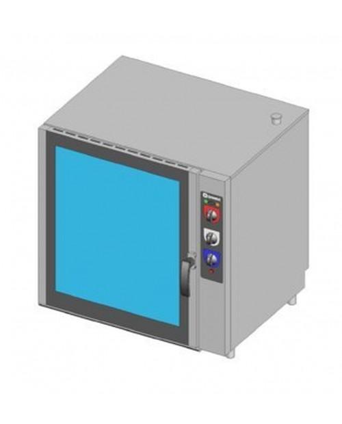 Cuptor patiserie pe gaz, injectie directa, control electromecanic, tavi 8X(600X400)mm