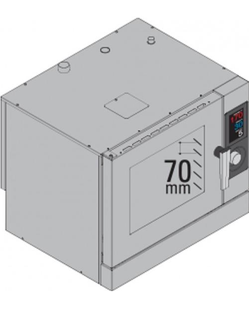 Cuptor cu boiler 6 × GN1/1