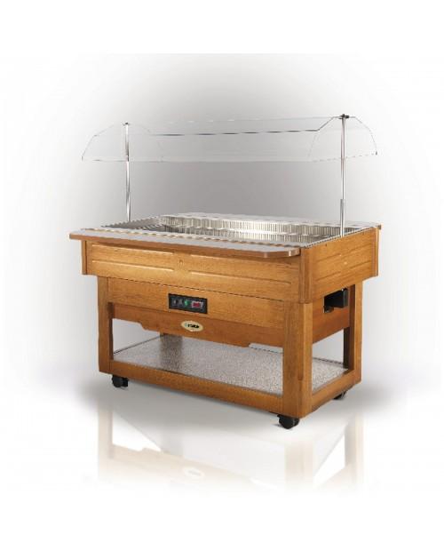 Bufet refrigerat din lemn