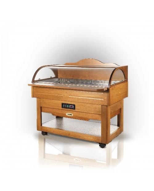 Vitrina frigorifica lemn BUFFET FISH