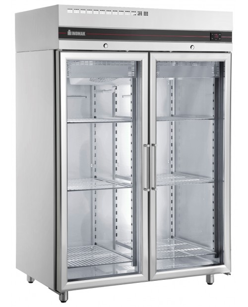 Dulap congelare vertical cu usi sticla 1432 lt. - seria CFS2140/GL