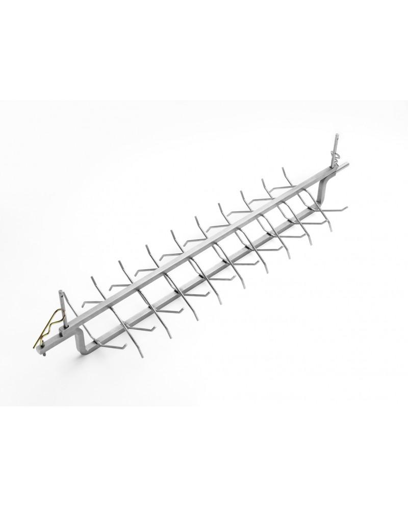 Instrument de colivie cu colturi plate din teflon - 895 mm