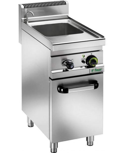 Mașina electrica de gătit paste, pereche de coșuri mici + capac - 3,5 kW - 230 V 1PH - 11 Lt.