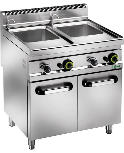 Mașina electrica de gătit paste pe gaz - 10 kW - 25 Lt.
