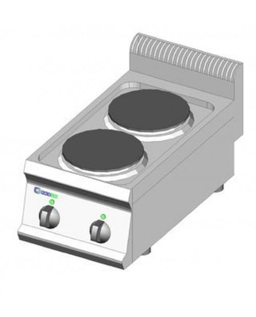 Masina de gatit electrica, 2 plite