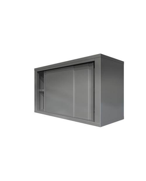 Dulap de perete, deschis-fara usi, doua polite intermediare,  (1000 - 2000 mm * 400 mm * 900 mm)