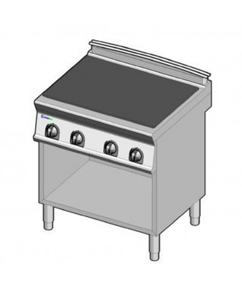 Masina de gatit electrica cu un singur platou, suport propriu