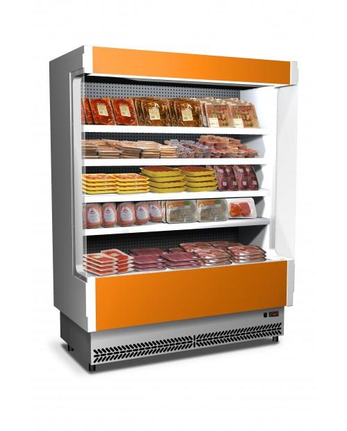 Vitrină verticală frigorifică cu afișaj compact, agregat incorporat / extern  - VULCANO 60 SL