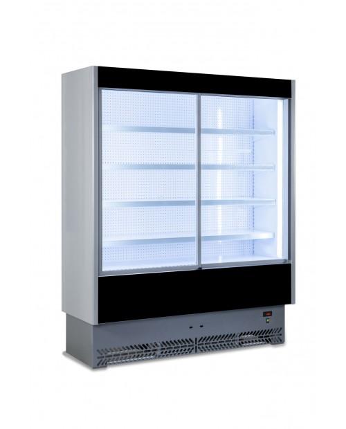 Vitrină verticală frigorifică cu usi glisante, agregat incorporat / extern, expunere salamuri, preparate  - VULCANO 60SL