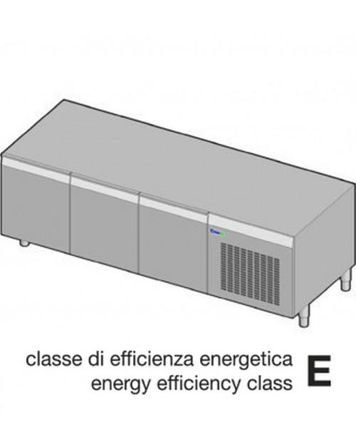 Suport neutru refrigerat GN1/1 - 3 usi