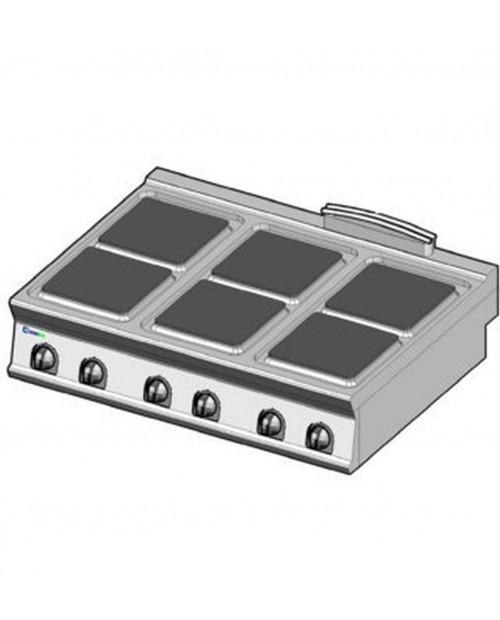 Masina de gatit electrica, 6 plite