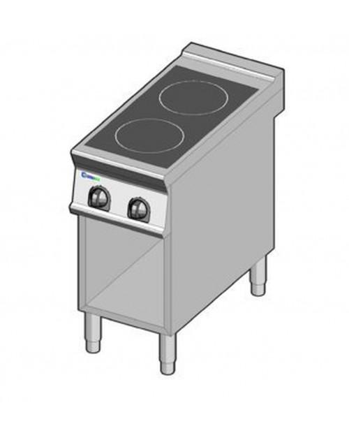 Masina de gatit electrica cu inductie, 2 zone, cu suport